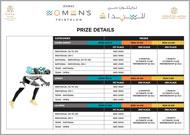 Dubai Women's Triathlon 2018 - Prize details